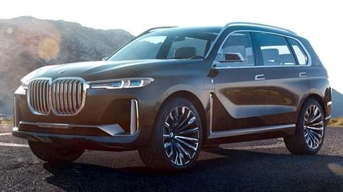 """Xe BMW X7 Concept nhan """"gach"""" khi lo dien"""