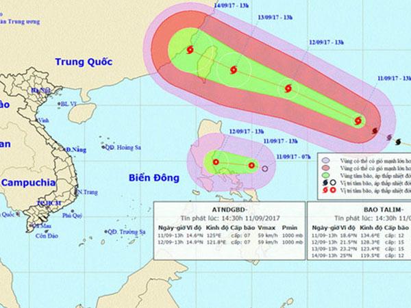 Nửa triệu người Trung Quốc sắp sơ tán vì bão mạnh đổ bộ
