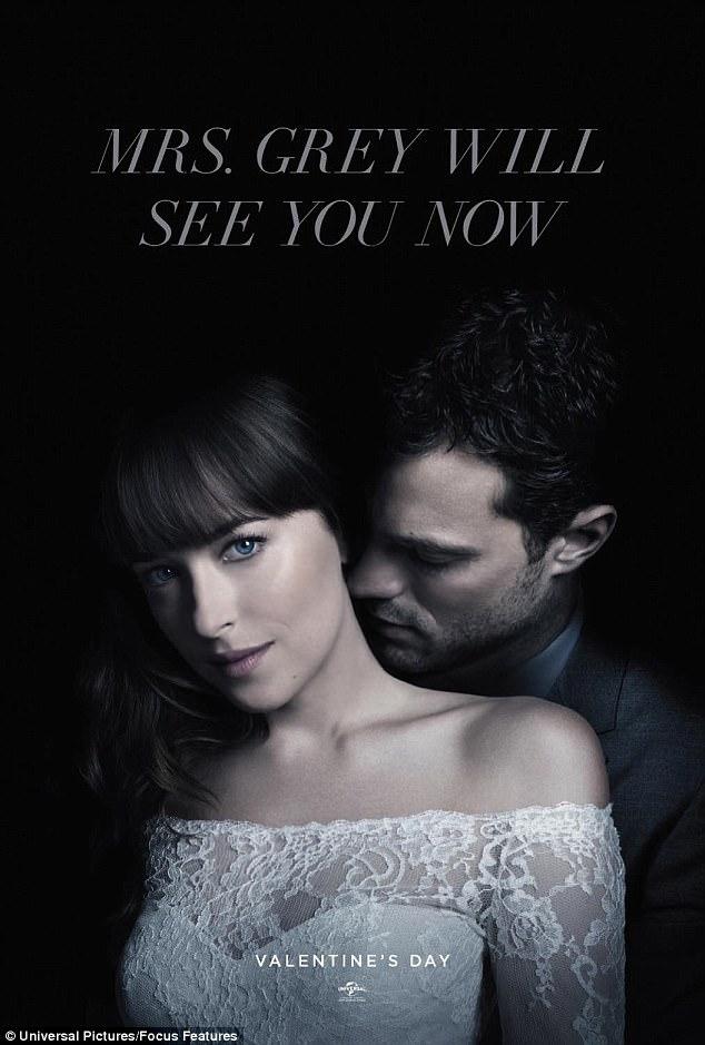Một bức hình khác quảng bá cho phần 3 khắc họa hình ảnh Christian và Ana.