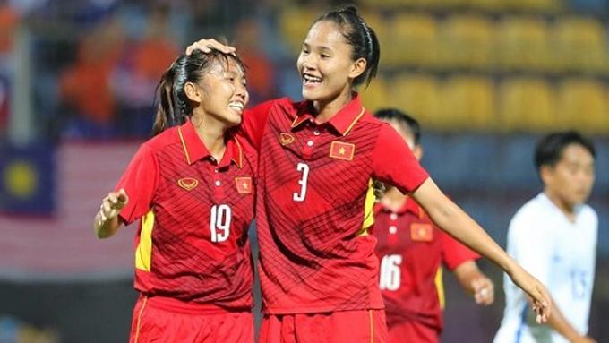 ĐT nữ Việt Nam lọt vào danh sách bầu chọn Cúp Chiến thắng 2017