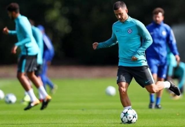 Hazard sẽ chưa trở lại đội hình xuất phát của Chelsea