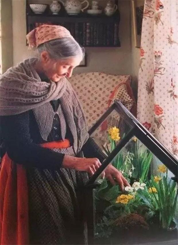 Ngôi nhà cổ tích có thật của bà cụ 92 tuổi khiến ai ai cũng phải trầm trồ, ước mơ - Ảnh 12.
