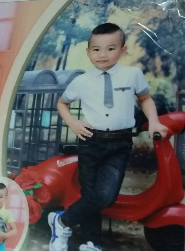 Bé Thái Quang Minh (ảnh gia đình cung cấp)