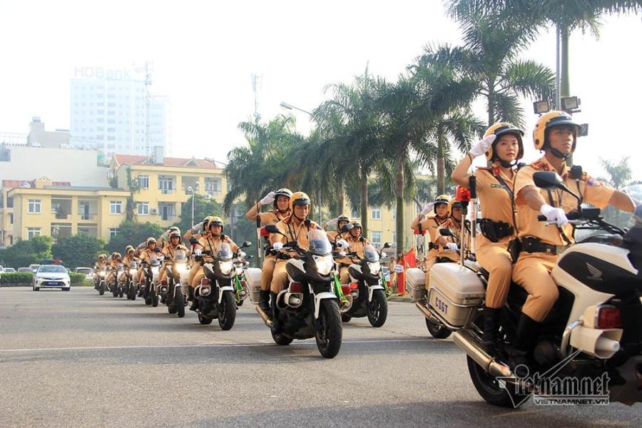 cảnh sát giao thông, CSGT, Hà Nội