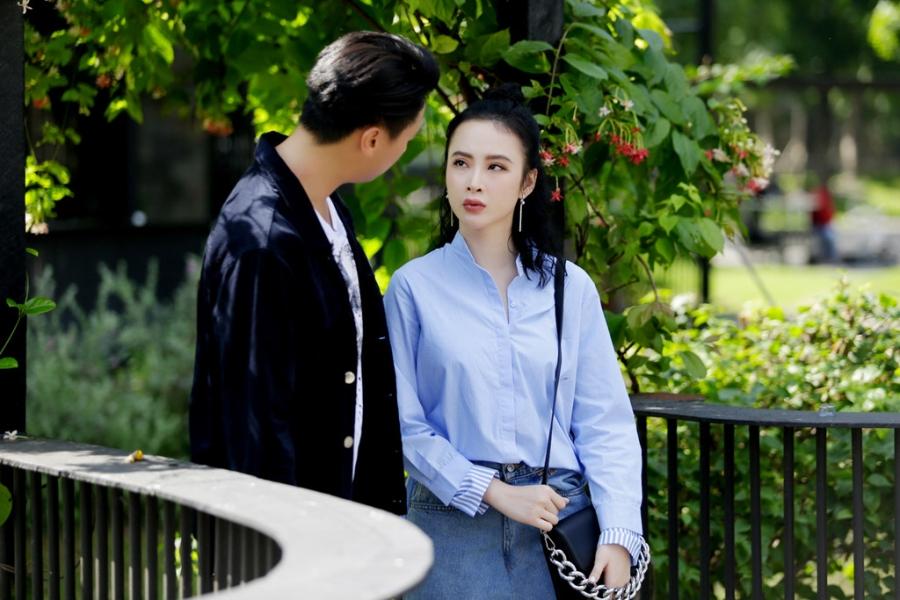 Thoi trang bien hoa cua Angela Phuong Trinh trong 'Glee' hinh anh 6