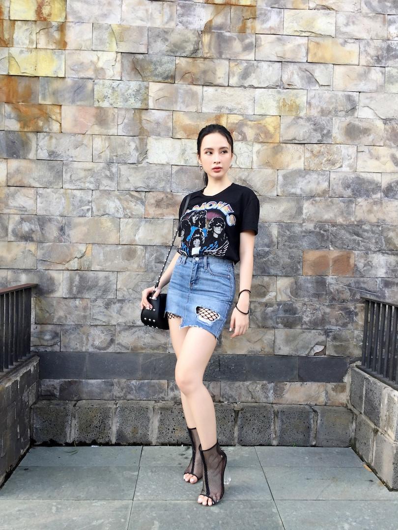 Thoi trang bien hoa cua Angela Phuong Trinh trong 'Glee' hinh anh 8