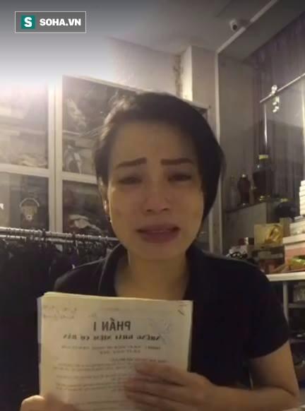 Vợ Xuân Bắc suy sụp, gầy sọp và khóc nghẹn khi livestream - Ảnh 3.