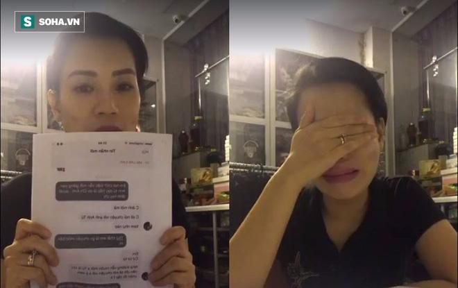 Vợ Xuân Bắc suy sụp, gầy sọp và khóc nghẹn khi livestream - Ảnh 5.