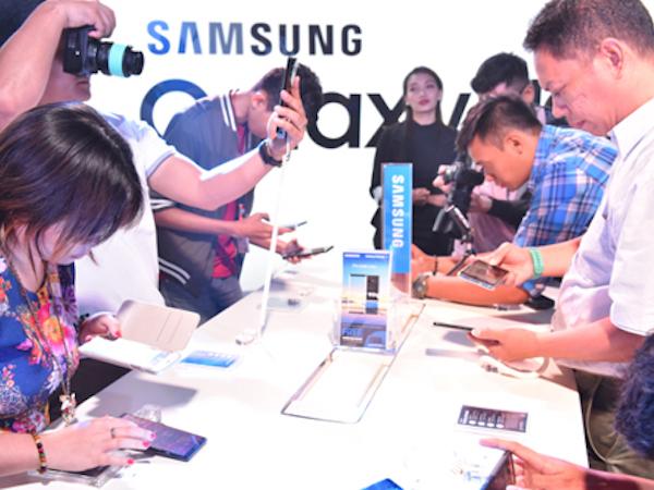 Loạt sự kiện ra mắt Galaxy Note8 trên thế giới