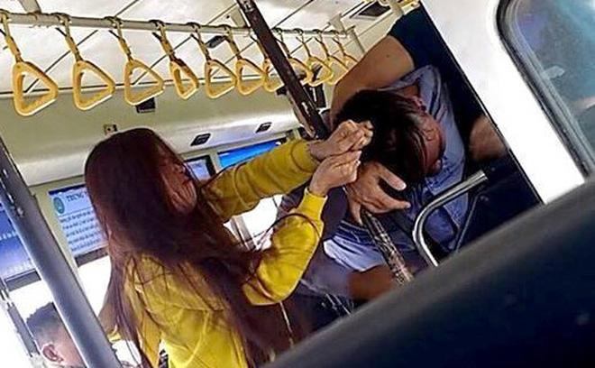 Giải trình bất ngờ vụ nam nhân viên xe buýt đánh nhau với 2 hành khách