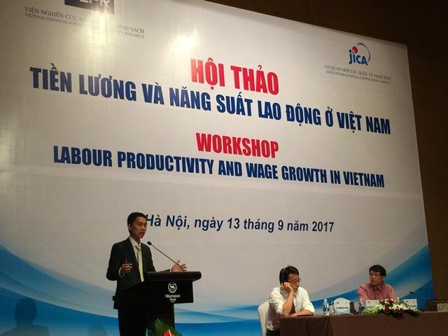 Mức Tăng lương trung bình của Việt Nam không theo quy định nào - TS Nguyễn Đức Thành, Viện trưởng Viện VEPR nói.