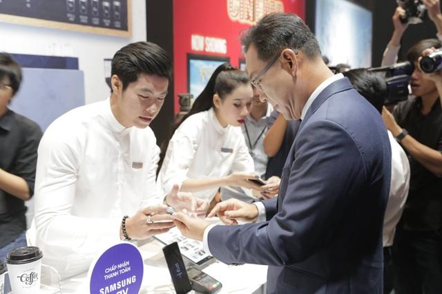 Hệ thống thanh toán di động của Samsung chính thức được sử dụng tại VN