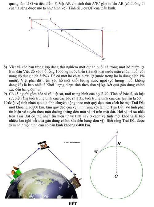 Sở GD&ĐT TP.HCM công bố đề thi minh họa lớp 10 - ảnh 2
