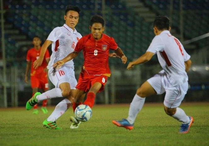 Thua ngược Myanmar, U-18 VN dừng bước ở vòng bảng