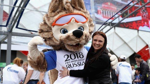Nga đã tiến hành nhiều hoạt động hướng đến World Cup 2018 /// AFP