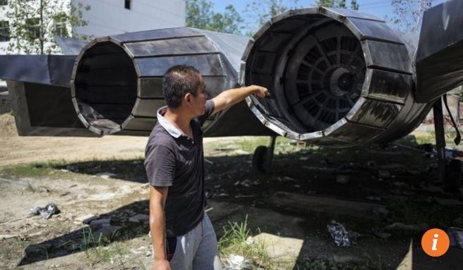 Xuất hiện tiêm kích tàng hình J-20 làm từ 5 tấn thép, phiên bản... không thể bay - Ảnh 2.