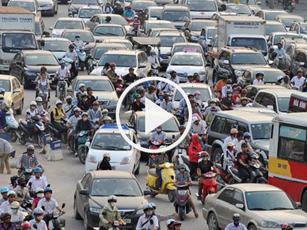 Video: Ý tưởng chống ùn tắc giao thông Hà Nội có xứng đáng nhận 100.000 USD?