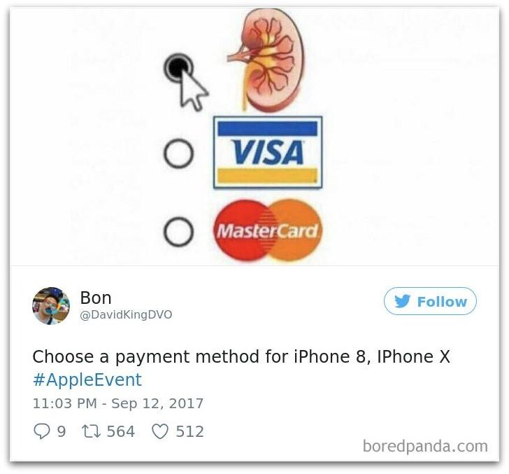Anh che khi iPhone X ra mat 'lay loi' cua dan mang the gioi hinh anh 2