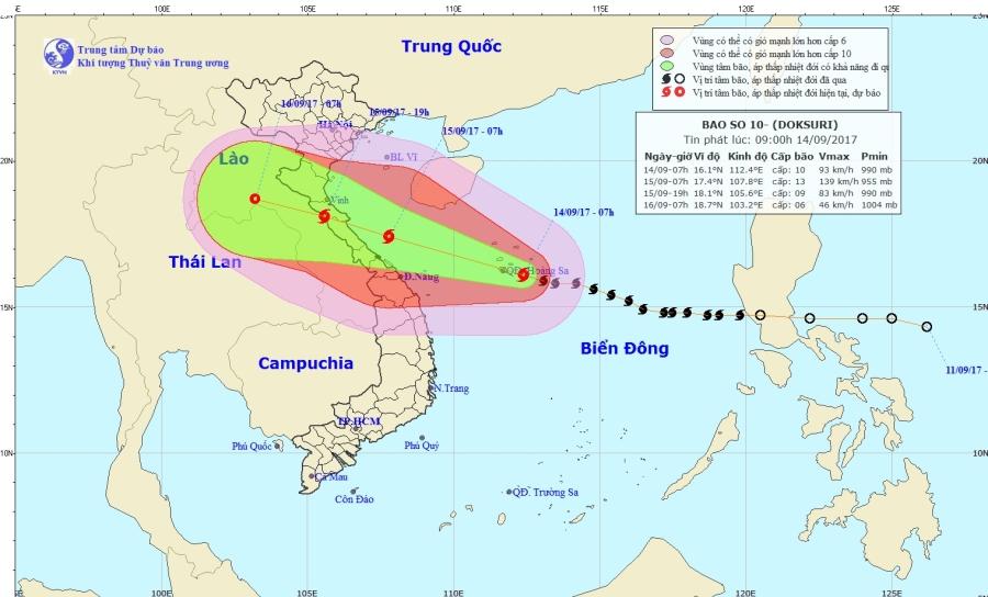 Bão số 10 là bão mạnh nhất trong 10 năm qua - Ảnh 2.