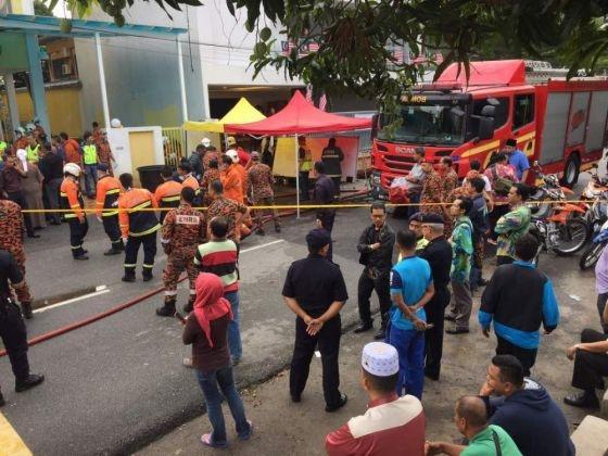 Chay truong hoc o Kuala Lumpur khien 25 nguoi thiet mang hinh anh 1