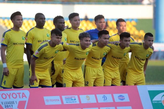 Hoãn hai trận đấu sớm vòng 18 V-League 2017