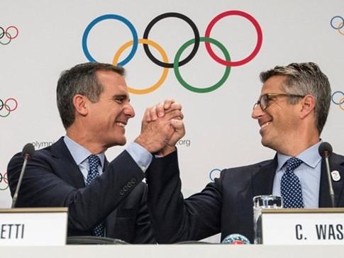 Pháp và Mỹ lần lượt đăng cai tổ chức Olympic 2024 và 2028 - ảnh 2