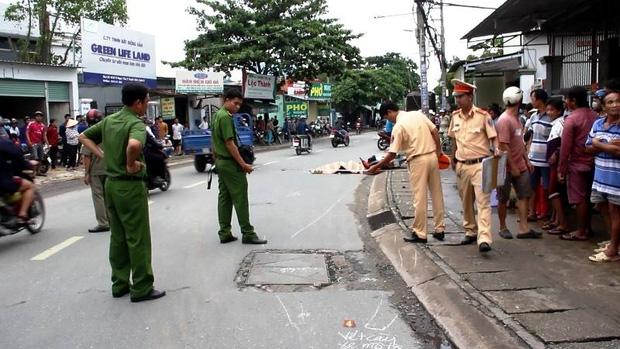 TP. HCM: Cô gái trẻ tử vong thương tâm dưới bánh xe tải - Ảnh 3.