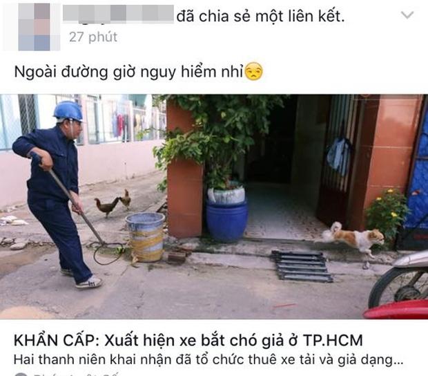 Xuất hiện thông tin bịa đặt Xe bắt chó giả ở TP HCM khiến nhiều người hoang mang - Ảnh 2.
