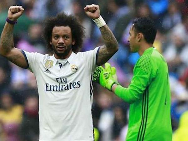 Marcelo gia hạn với Real sau khi nhận án treo giò