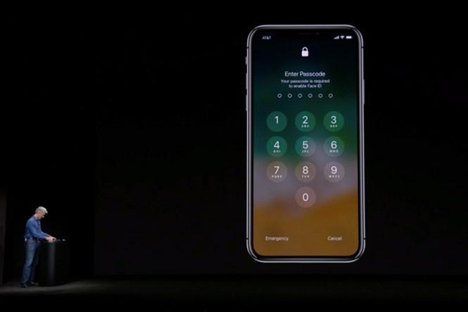 Lỗi đăng nhập trong bản demo đầu tiên về tính năng Face ID trên iPhone X /// Ảnh chụp màn hình Theverge