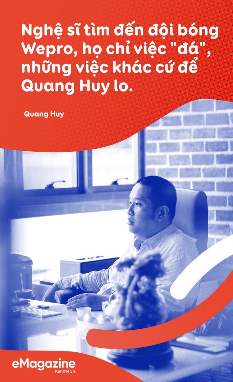 Ông chủ Wepro Quang Huy: Nếu tôi không mạnh tay tăng giá cho Sơn Tùng, cát-sê ca sĩ vẫn còn ở mức trần rất thấp - Ảnh 4.