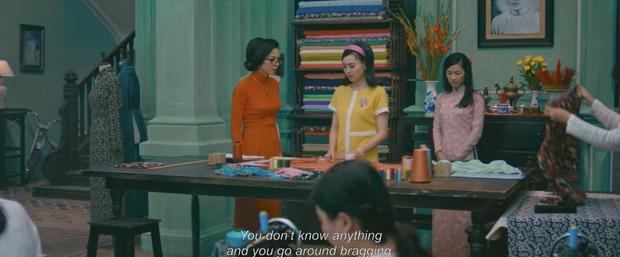Ngô Thanh Vân tát Lan Ngọc vì không biết may áo dài trong teaser mới của Cô Ba Sài Gòn - Ảnh 7.