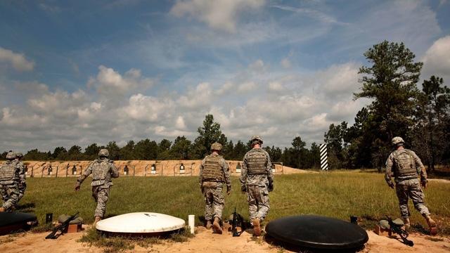 Căn cứ Fort Bragg của Mỹ (Ảnh: Military)
