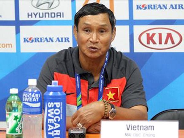 HLV Mai Đức Chung tiến cử hai HLV ngoại cho ĐT Việt Nam