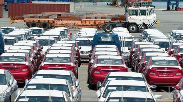 Xe nước ngoài giảm lượng nhập về Việt Nam (ảnh minh hoạ)