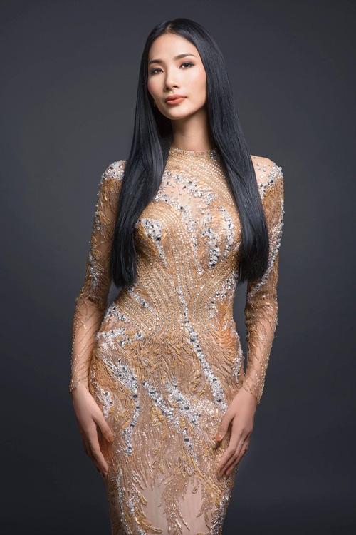 Hoàng Thùy chính thức vượt mặt Mâu Thủy giành giải thưởng đầu tiên của Miss Universe Vietnam 2017! - Ảnh 2.