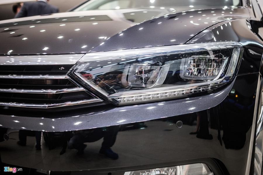 Volkswagen Passat phien ban moi canh tranh Camry, Mazda6 tai Viet Nam hinh anh 3