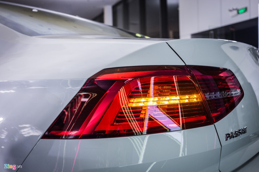 Volkswagen Passat phien ban moi canh tranh Camry, Mazda6 tai Viet Nam hinh anh 6