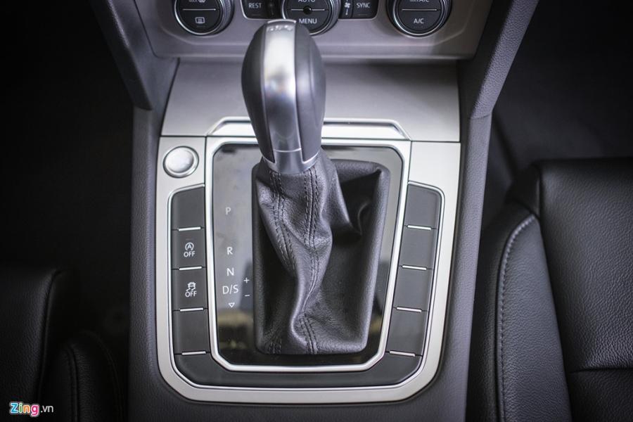 Volkswagen Passat phien ban moi canh tranh Camry, Mazda6 tai Viet Nam hinh anh 10