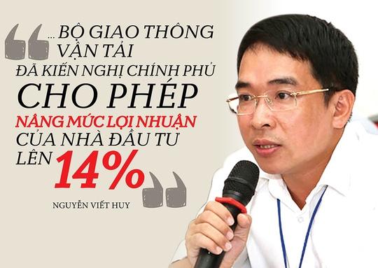 Đề xuất tăng lợi nhuận cho các nhà đầu tư BOT - Ảnh 1.