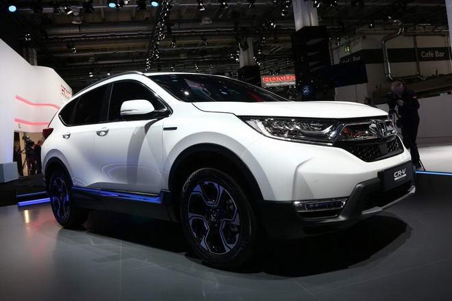 Honda ra mắt CR-V Hybrid với công nghệ tiên tiến - 3