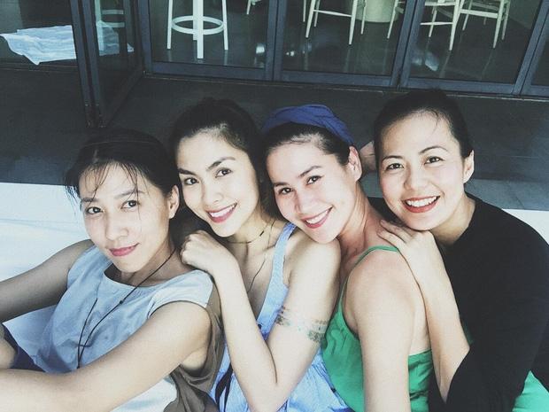 Nhan sắc hội bạn thân Hà Tăng sau 10 năm: Đã làm mẹ mà còn xinh đẹp hơn cả thời thiếu nữ! - Ảnh 3.