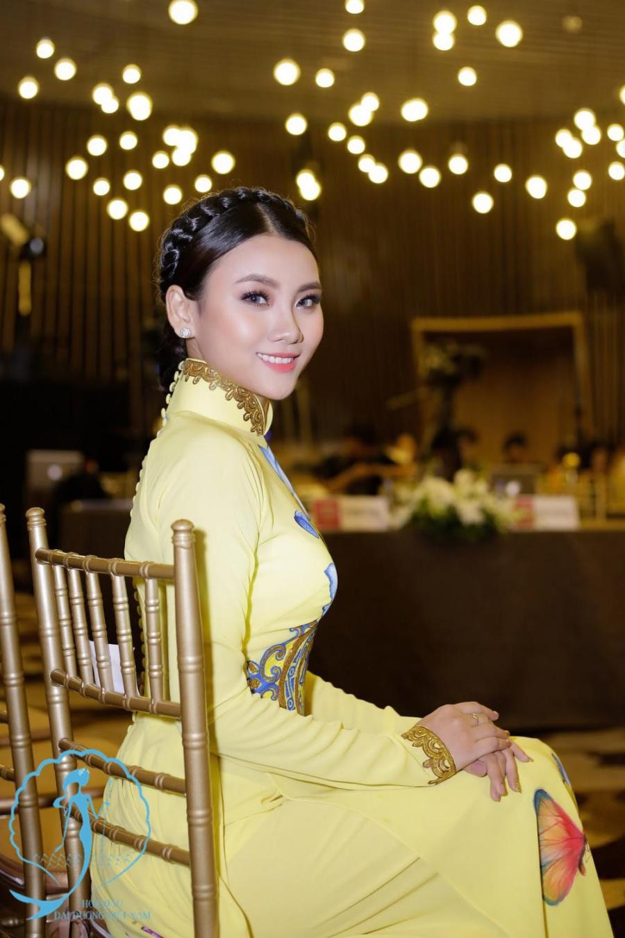 Nhan sac top 10 thi sinh vong online cuoc thi Hoa hau Dai duong 2017 hinh anh 2
