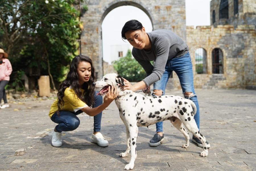 Rocker Nguyen tinh tu voi Angela Phuong Trinh tren phim truong 'Glee' hinh anh 6