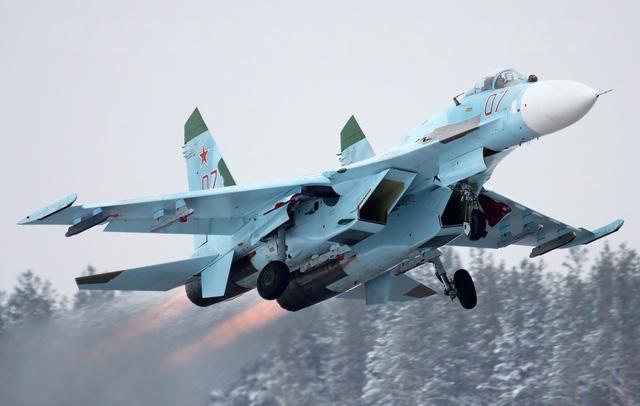 Một máy bay Su-27 của Nga (Ảnh minh họa: Aviationist)