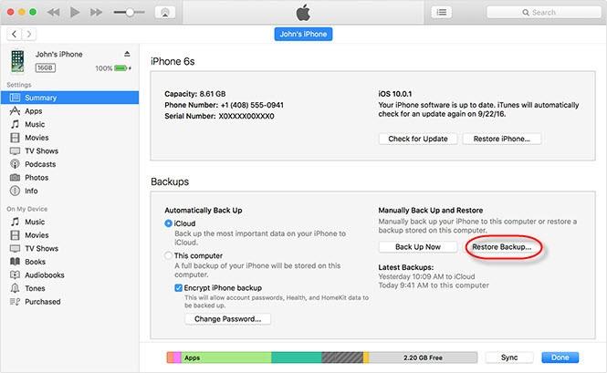 Cách chuyển dữ liệu từ iPhone cũ sang iPhone X - ảnh 5