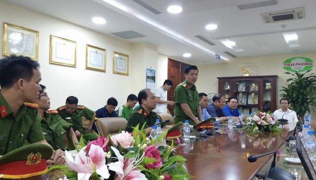Ông Nguyễn Văn Thành biểu dương các lực lượng phát hiện sớm và dập tắt kịp thời