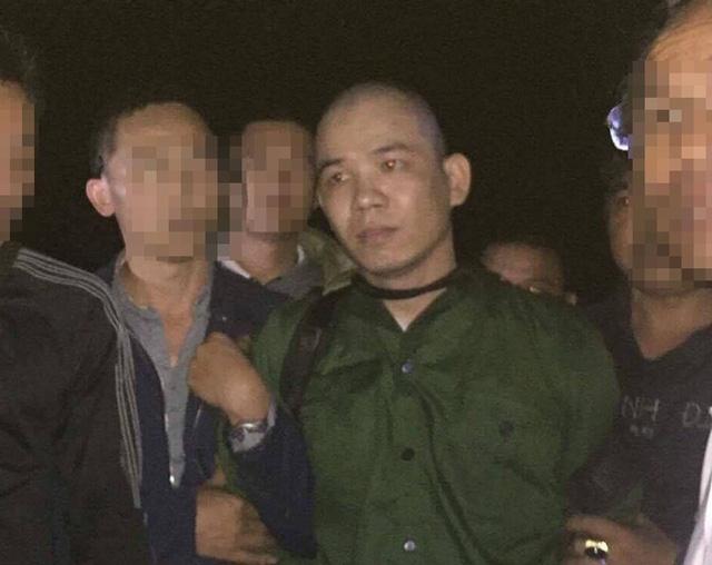 Tử tù Nguyễn Văn Tình bị bắt giữ ngay miệng thung lũng ma tuý nhưng không mất một tiếng súng. (Ảnh trinh sát cung cấp).