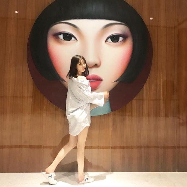 Cô bạn Trung Quốc mặt xinh, dáng đẹp, người gì đâu đáng yêu hết phần người khác - Ảnh 7.