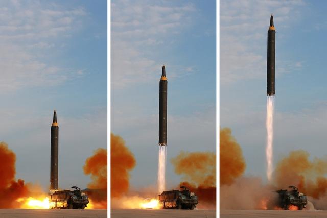 Triều Tiên phóng tên lửa ngày 15/9 nhưng không thông báo trước cho Trung Quốc như trước đây (Ảnh: Reuters)